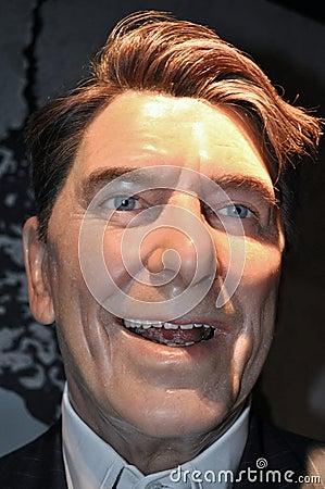 Ronald Wilson Reagan Editorial Photography