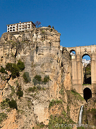 Ronda Bridge and Tajo Gorge, Spain