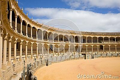 Ronda Bullring in Spain