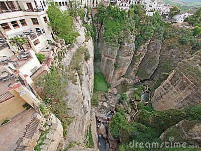 Ronda canyon, Andalusia, Spain