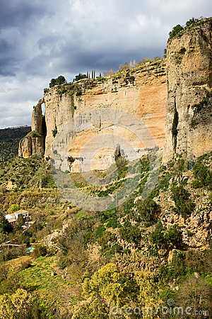 Ronda Rock in Andalusia
