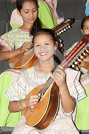 Rondalla band member Editorial Photography