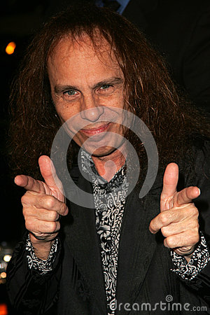 Ronnie James Dio,Tenacious D Editorial Image