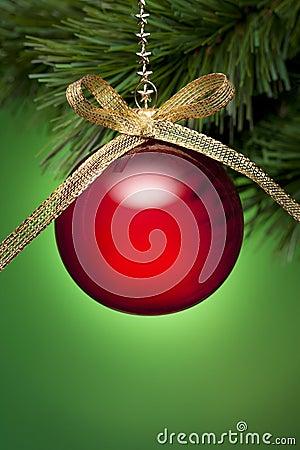 Rood en Groene kerstboom