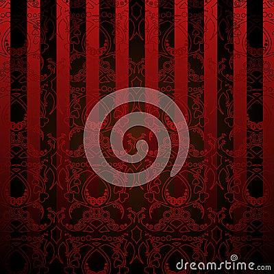 Rood en zwart behang royalty vrije stock foto afbeelding 12726915 - Eetkamer rood en zwart ...
