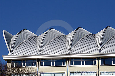 Roof of a building