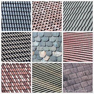 Free Roof Collage Stock Photography - 13738162
