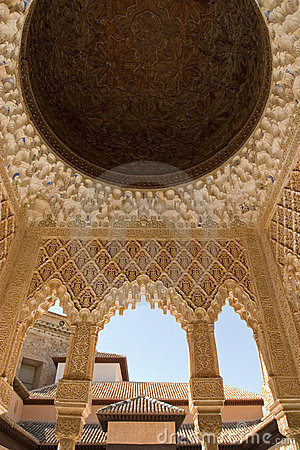 Free Roof Detail In Alhambra Stock Photography - 2516212