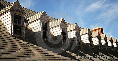 A Roof and Dormers in Need of Repair