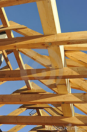 Free Roof Framework Royalty Free Stock Photography - 16428577