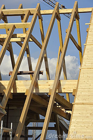Free Roof Framework Stock Photo - 20027840