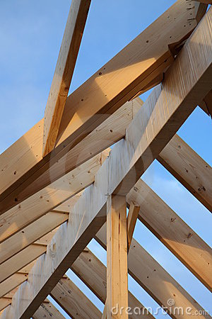 Free Roof Framework Stock Photography - 4329442