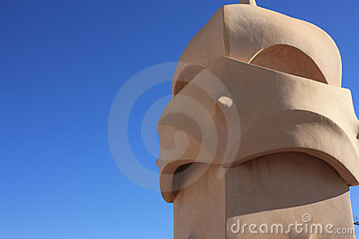 Roof guardian by Gaudi