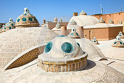 Roof of  Hammam in Kashan , Iran