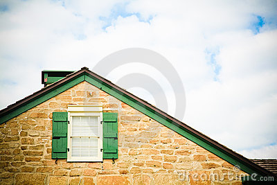 Roof Line, Window and Sky