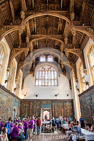 Free Roof Of The Tudor Great Hall At Hampton Court Stock Image - 43395161