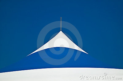 Roof Portion Of A Portable Tent Awing Stock Image - Image: 5658381