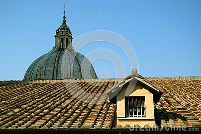 The Roof of Saint Peter's Basilica