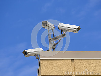 Roof  security cameras