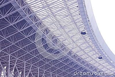 Roof of the stadium