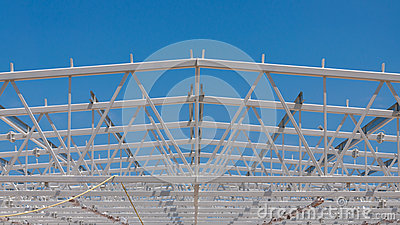 Roof steel structure