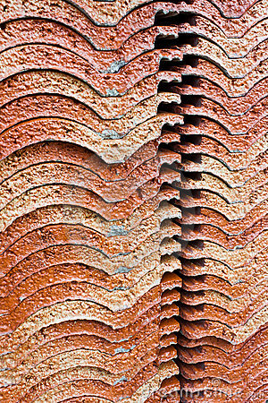 Roof tile stack