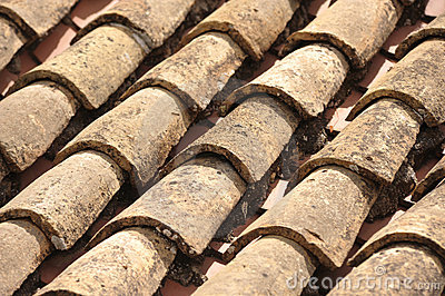 Roof tiles at Mijas