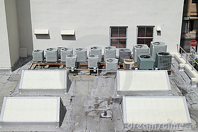 Roof top A/C units
