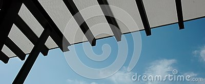 Roof Top  Sky Blue Royalty Free Stock Image - Image: 16100056