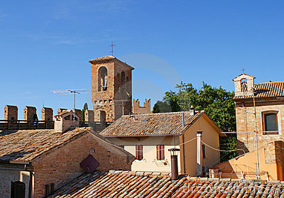 Roof Tops of Gradara