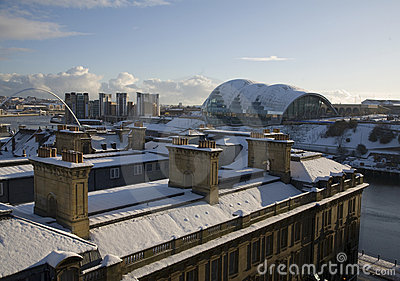 Roof Tops on the Quayside