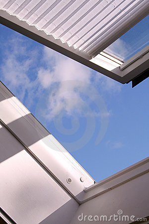 Free Roof Window Stock Image - 10342211