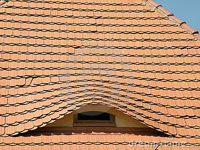 Roof With Window Royalty Free Stock Images - Image: 15035659