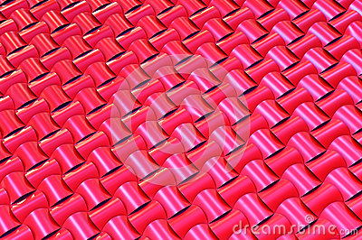 Roof woven pattern