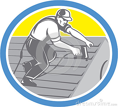 Roofing Cartoons Roofing Pictures Illustrations And