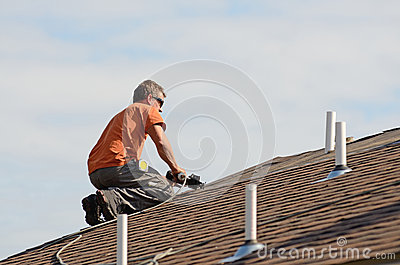 Roofing Stock Photo Image 58455769