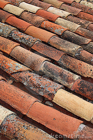 Free Roofing Tiles Royalty Free Stock Photo - 14010205