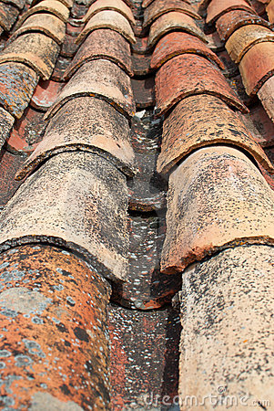 Free Roofing Tiles Stock Photography - 14037062
