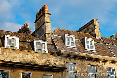 Roofs and chimneys