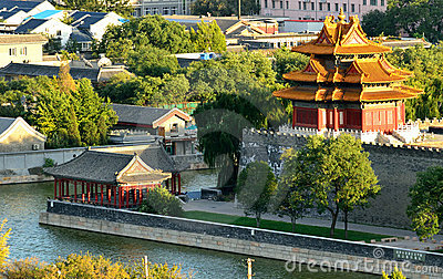 Roofs of the forbidden city