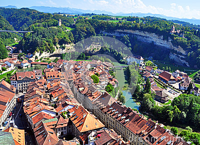 Roofs of Fribourg