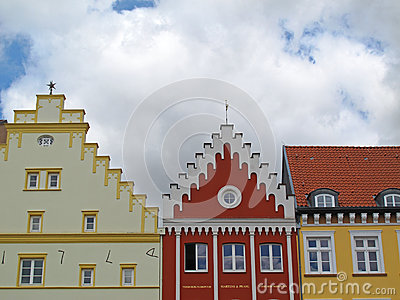 Roofs of Greifswald