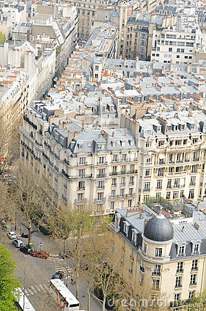 Free Roofs Of Paris Royalty Free Stock Images - 19035489
