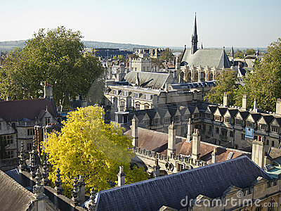 Roofs of Oxford University