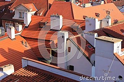 Roofs - Prague