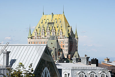 Roofs of Quebec City