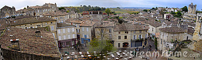 Roofs of saint-emilion