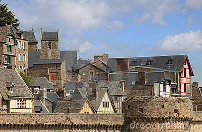 Roofs at Saint Michel