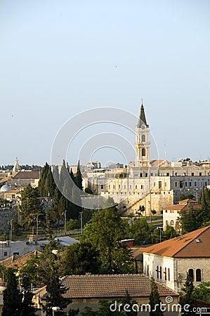 Rooftop erusalem Palestine Israel