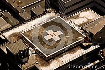 Home > Stock Photography: Rooftop Hospital Helipad